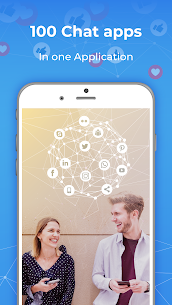 All in One Messenger For Social Network App 4