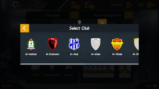 Golden Team Soccer 18 1.1 screenshots 3