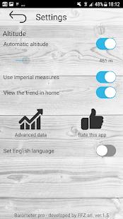 Barometer pro - free 3.8 Screenshots 4