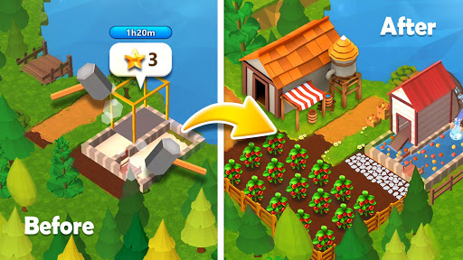 Farmship: Tripeaks Solitaire 4.76.5038.0 Screenshots 4