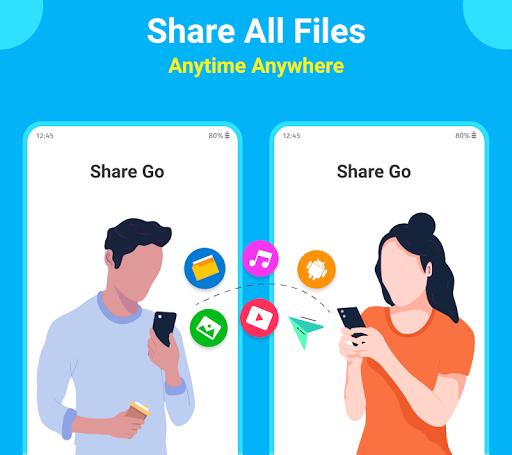 SHARE Go : Share Apps, File Transfer, Share apktram screenshots 1