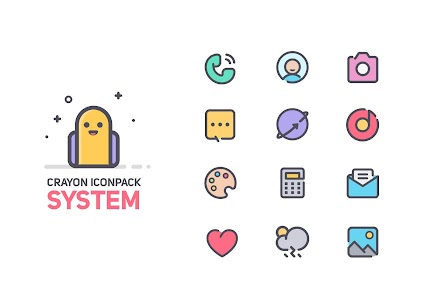Crayon Icon Pack v2.6 (Patched) 1