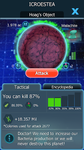 bacterial takeover - idle clicker screenshot 1