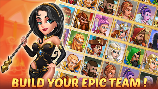 Firestone Idle RPG: Tap Hero Wars  screenshots 1