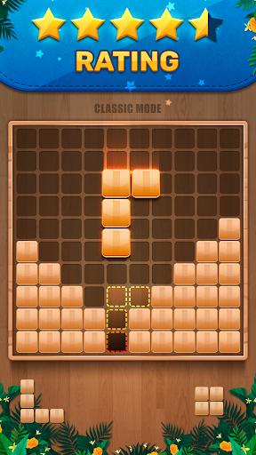 Wooden 100 Block Puzzle - Classic Wood Brain Game screenshots 1