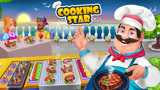 Télécharger Gratuit Cuisine étoile- fou cuisine restaurant Jeu APK MOD (Astuce) screenshots 1