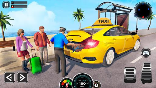 Grand Taxi Simulator : Modern Taxi Games 2021 2.1 screenshots 1