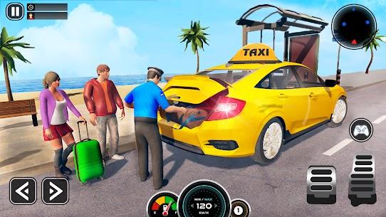 Grand Taxi Simulator : Modern Taxi Games 2021 1