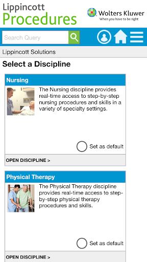Lippincott Procedures  screenshots 1