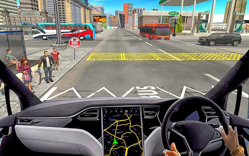Public Coach Transport: Bus Driving Simulator android2mod screenshots 4