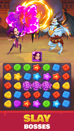 Portal Kingdoms: Match-3 RPG 1.0.3 screenshots 1