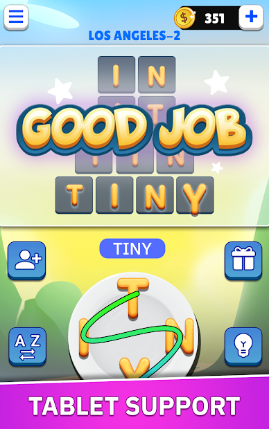 Word Land - Multiplayer Word Connect Puzzle Game screenshot 4