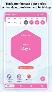 Period Tracker: Ovulation Calendar & Fertile Days 1.6 Apk 3
