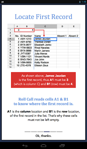 Attendance Roll Call For PC Windows (7, 8, 10, 10X) & Mac Computer Image Number- 19