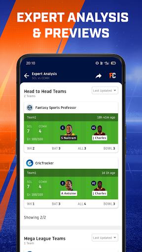 Cricket Live Stream, Scores & Predictions: FanCode android2mod screenshots 8