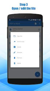 PDF to Word Converter 3.0.50 Screenshots 4