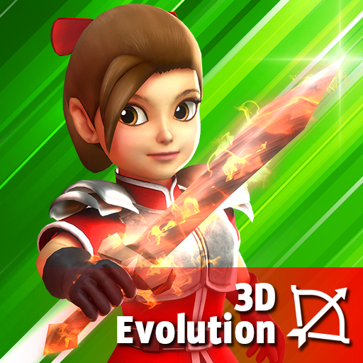 Dashero: Archer Sword 3D - Offline Arcade Shooting