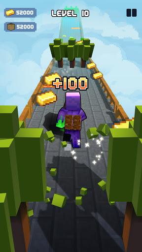 Craft Runner - Miner Rush: Building and Crafting Apkfinish screenshots 11