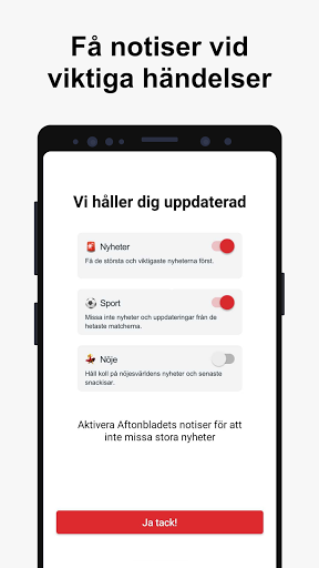 Aftonbladet Nyheter apktram screenshots 3