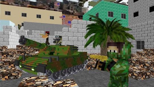 American Block Sniper Survival 1.87 [MOD APK] Latest 2