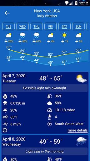 Weather Forecast  Screenshots 13