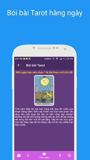 Tu1eed vi 2021 - Xem tu vi hang ngay , xem boi tarot android2mod screenshots 6