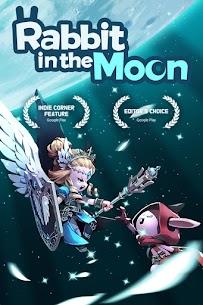 Rabbit in the moon 1
