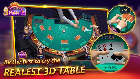Teen Patti 3D ZingPlay - Elite 3 Patti Card Online 0.0.1 screenshots 2