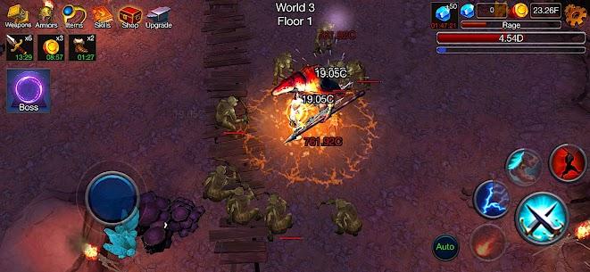 Dungeon Clash Mod Apk- 3D Idle RPG (Unlimited Gold/ Diamonds) 5