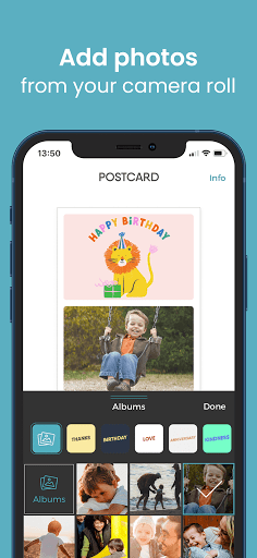 TouchNote: Card Maker - Postcards & Greeting Cards  screenshots 5