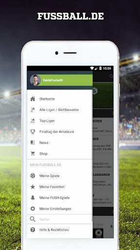 FUSSBALL.DE 6.101.1 Screenshots 1