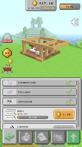 House Craft 3D - Idle Block Building Game Apkfinish screenshots 2