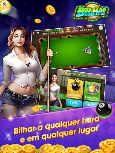 Bilhar - Bilhar bola 8 - Bilhar com jogo de cartas goodtube screenshots 7