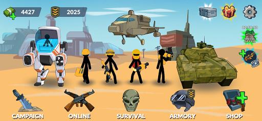 Stickman World Battle 1.02 screenshots 1