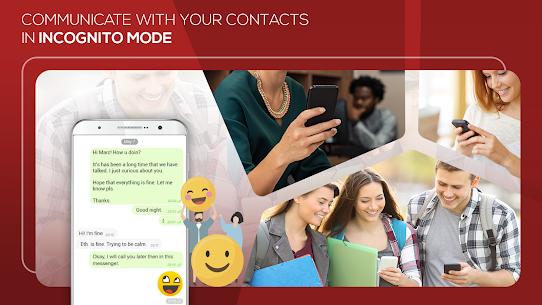 Mobile Messenger: Hidden Chat, Message, Video Call 5