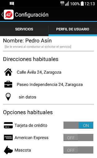 taxi zaragoza screenshot 3
