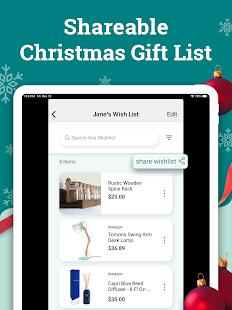 Elfster: Secret Santa & Shareable Wish List App