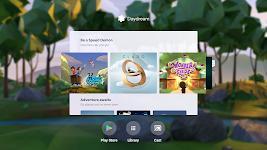screenshot of Daydream
