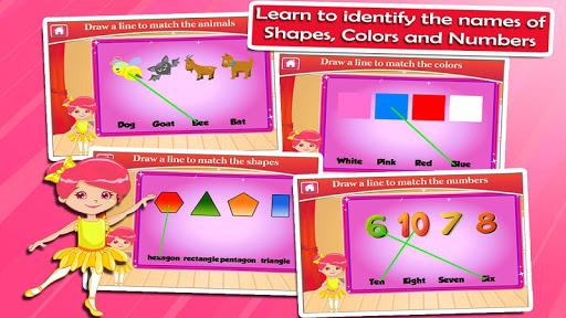 Ballerina Kindergarten Games screenshots apkspray 2