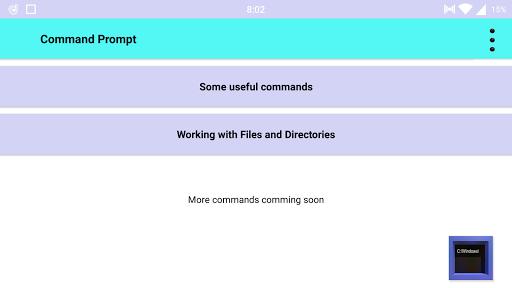 Command Prompt  Screenshots 5