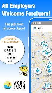WORK JAPAN Foreigner Friendly Jobs!