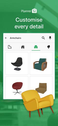 House Design & Interior room sketchup - Planner 5D apktram screenshots 4