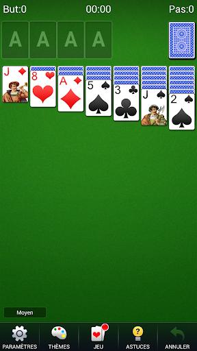 Télécharger Gratuit Solitaire - Klondike Solitaire Jeux De Cartes APK MOD (Astuce) screenshots 1