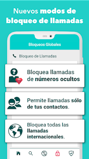 Call Blocker - Bloquea y denuncia teléfonos spam Screenshot