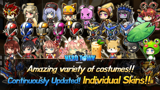 Hero Town online : 2D MMORPG 4.37 screenshots 4