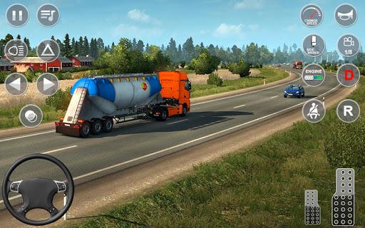 Euro Truck Transport Simulator 2: Cargo Truck Game android2mod screenshots 8