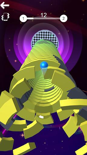 Color Stack Ball 3D: Ball Game run race 3D - Helix 8 screenshots 2