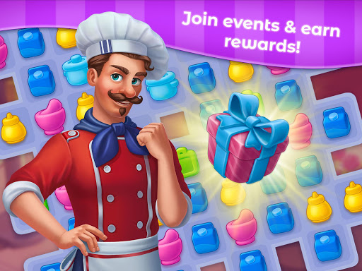 Grand Cafe Storyuff0dNew Puzzle Match-3 Game 2021 2.0.26.1 screenshots 14