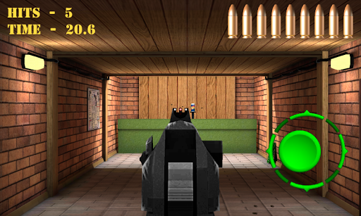 Pistol shooting at the target.  Weapon simulator 4.5 screenshots 5