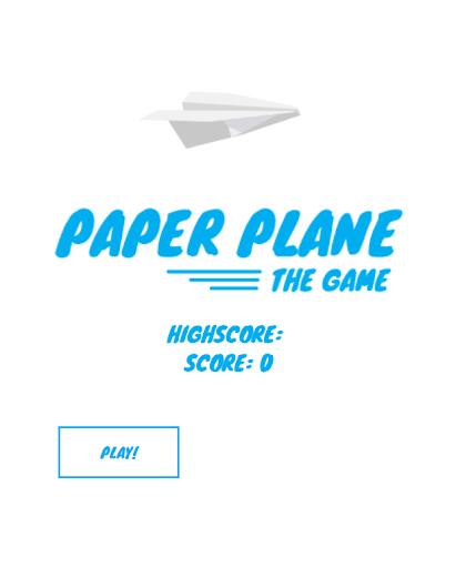 paperplane game screenshot 1